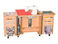 Стол раскладной для швейной машины Gemini (G-T001), Тик