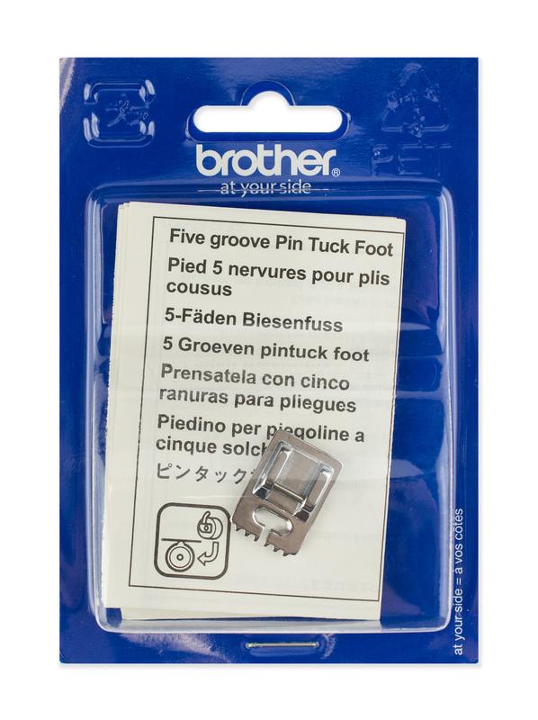Лапка для швейных машин Brother для 5 защипов (арт. F037N)