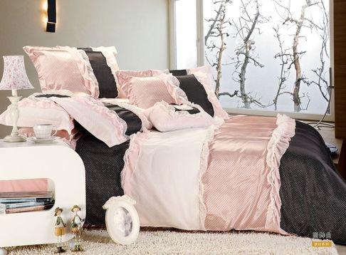 "Beding Set сатин евро 2 наволочки ""Cristelle"""
