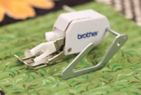 Лапка для швейных машин Brother направляющая для выстегивания (арт. F016N)