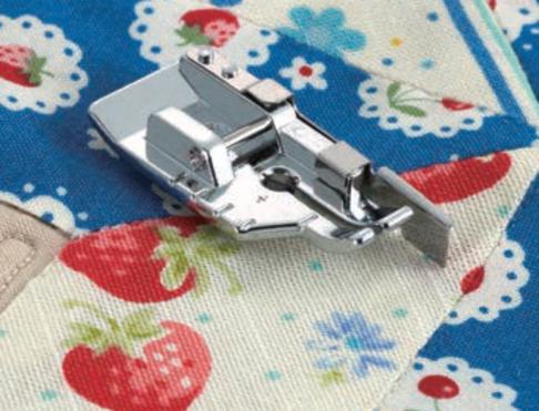 Лапка для швейных машин Brother 1/4 для пэчворка с направляющей