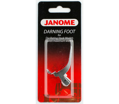 Лапка для швейных машин Janome с вертикальным челноком для штопки (арт. 200-127-000)