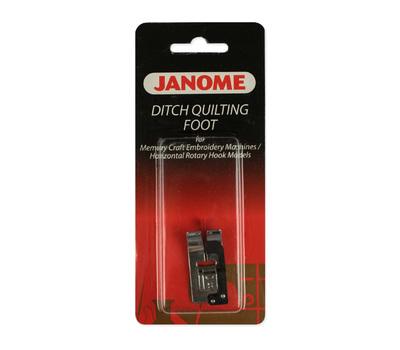 Лапка для швейных машин Janome с горизонтальным челноком для отстрочки по краю (арт. 200-341-002)