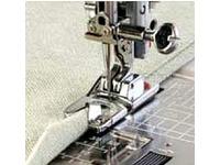Лапка для швейных машин Janome с вертикальным челноком для ролевой подрубки 2мм (арт. 200-128-001)
