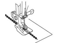 Лапка для швейных машин Janome с горизонтальным челноком для пришивания бисерной нити (арт. 200-321-006 )