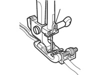Лапка для швейных машин Janome с горизонтальным челноком для пришивания резинки,тесьмы и блесток(арт. 200-332-000)