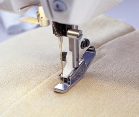 Лапка для швейных машин Husqvarna для молнии узкая (арт. 4125657-45)