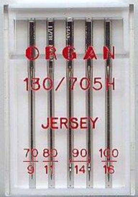 Иглы Organ для трикотажа №70-100 (5 шт.)