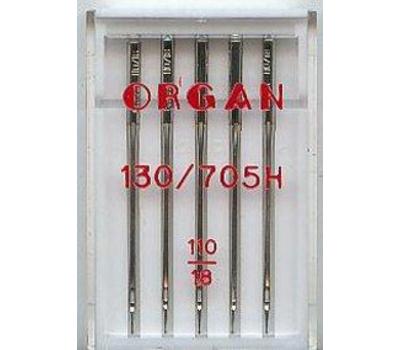 Иглы Organ универсальные №110 (5 шт.)