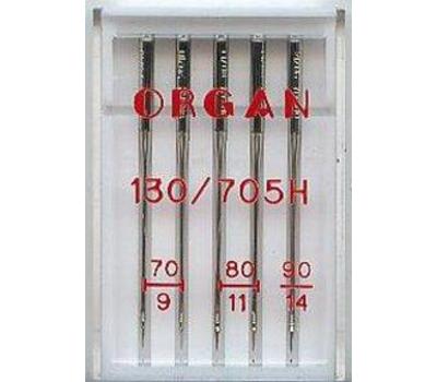 Иглы Organ универсальные №70-90 (5 шт.)