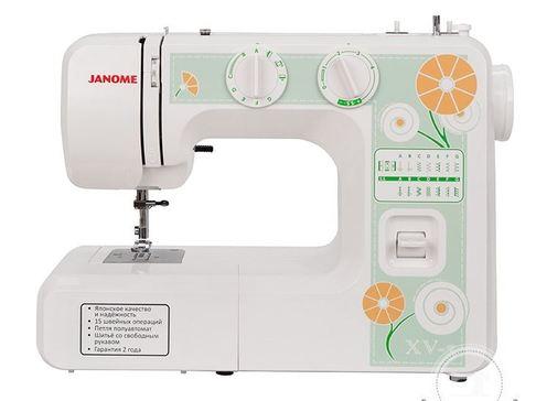 Электромеханическая швейная машина Janome XV-3