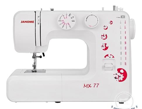 Электромеханическая швейная машина Janome MX 77