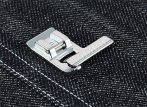 Лапка для швейных машин Brother с линейкой (арт. F035N)