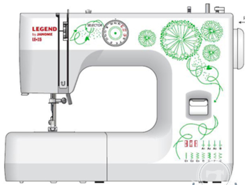 Швейная машина Janome LE-15