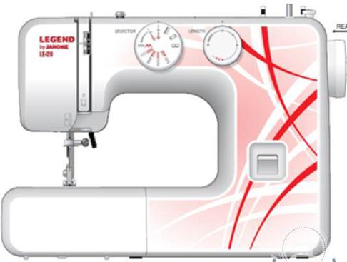 Швейная машина Janome LE-20