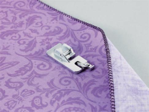 Лапка для швейных машин Brother для подгибки срезов врулик (арт. F039N)