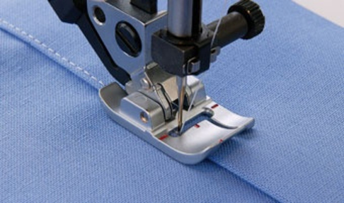 Лапка для швейных машин Pfaff Bi-level для отстрочки двухуровневая (арт. 820676-096)