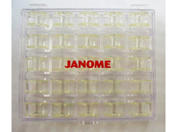 Шпульки Janome в шкатулке д/шв машин (25 шт)