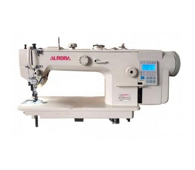 Прямострочная промышленная швейная машина с шагающей лапкой A-3500-D4 Aurora (прямой привод)