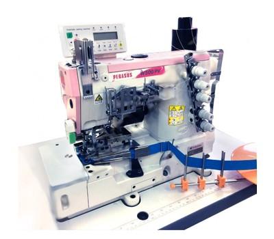 Автоматизированное решение для окантовки трикотажа Pegasus W562PV-02Gх356/TK/DD