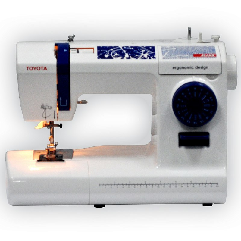 Toyota JEANS 17C швейная машина