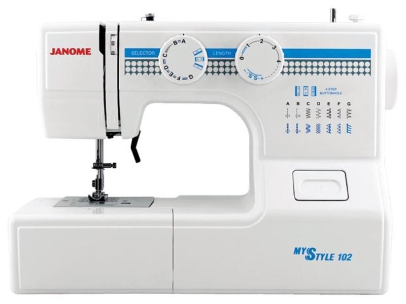 Janome My Style 102 швейная машина