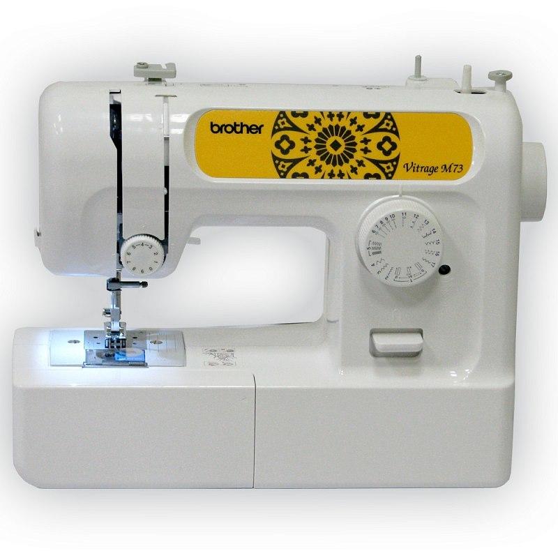 Brother Vitrage M73 швейная машина