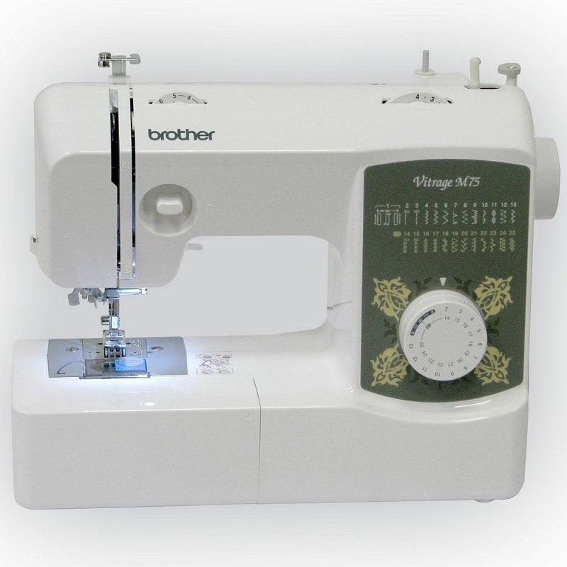 Brother Vitrage M75 швейная машина