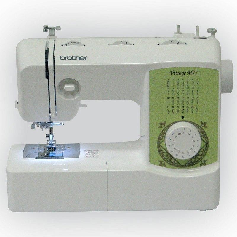 Brother Vitrage M77 швейная машина