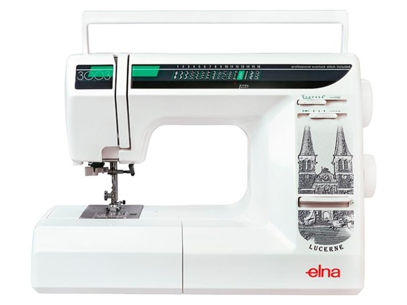 Elna 3003 швейная машина