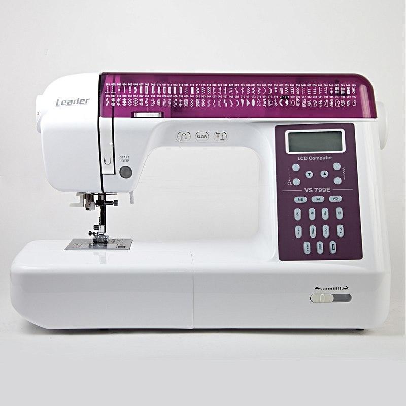 Leader VS 799E швейная машина в комплекте со столиком