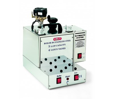 LELIT PG036 Промышленный парогенератор 5 л c возможностью автоматической подкачки воды на 2 рабочих места