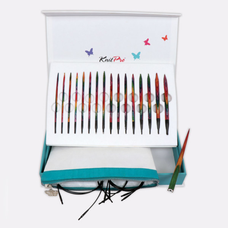 """Подарочный набор """"Colours of Life"""" съемных спиц """"Symfonie"""", KnitPro, Индия"""