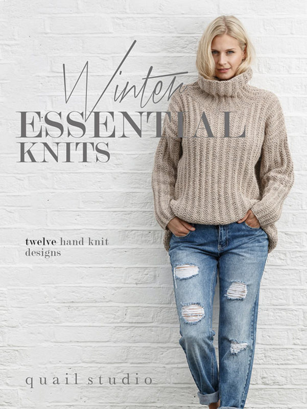 "Книга ""Winter Essential Knits"", дизайнер Quail Studio, MEZ, Германия"