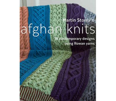 """Книга """"Afghan Knits"""" /Афганское вязание/, дизайнер Martin Storey"""
