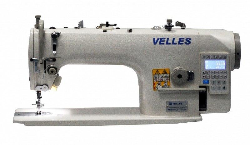 Промышленная одноигольная швейная машина челночного стежка VELLES 1115DDH