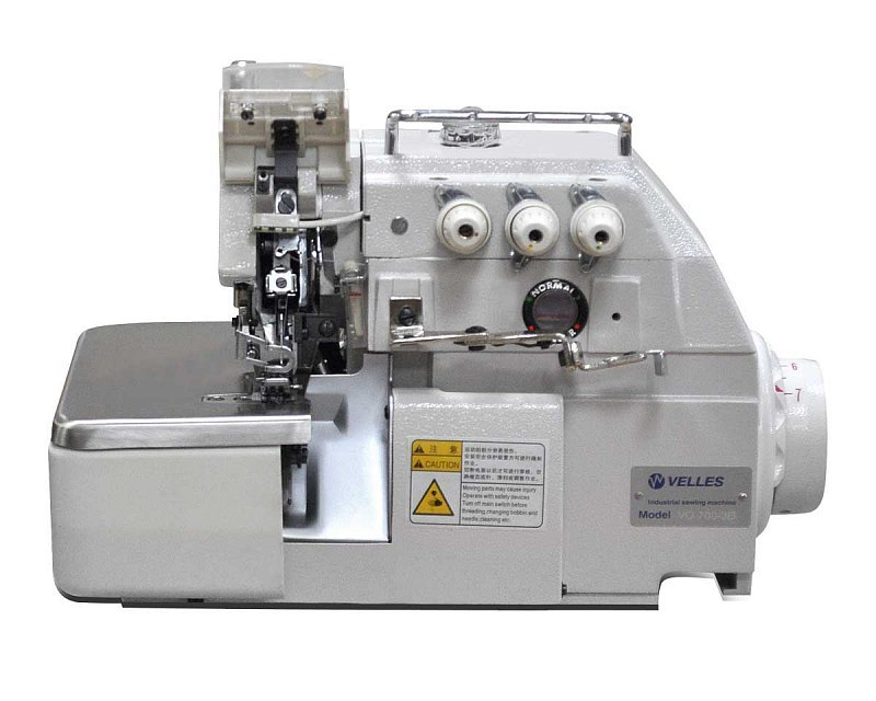 Промышленный 3-х ниточный оверлок c прямым приводом VELLES VO 700-3D