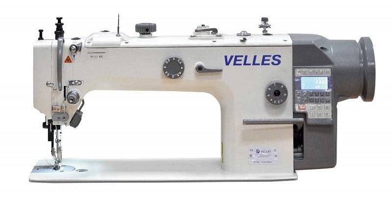 Одноигольная промышленная швейная машина челночного стежка VELLES VLS 1156DD