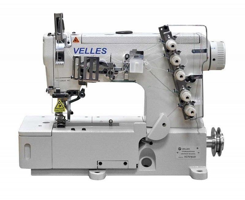 Промышленная плоскошованя машина с плоской платформойVelles VC 7016-01