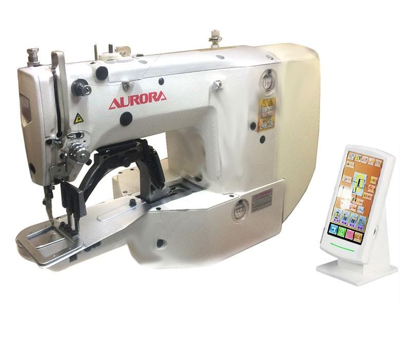 Закрепочная машина для сшивания резинки встык AURORA A-1904 (прямой привод)