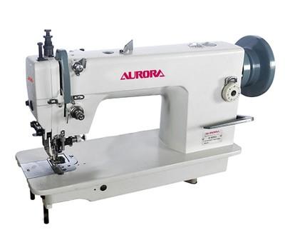 Промышленная швейная машина с шагающей лапкой и ножом обрезки края материала Aurora A-0352