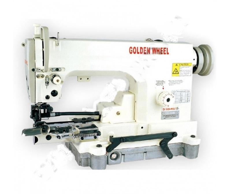 Специальная машина с цилиндрической платформой для подгибки низа GOLDEN WHEEL CS-7390