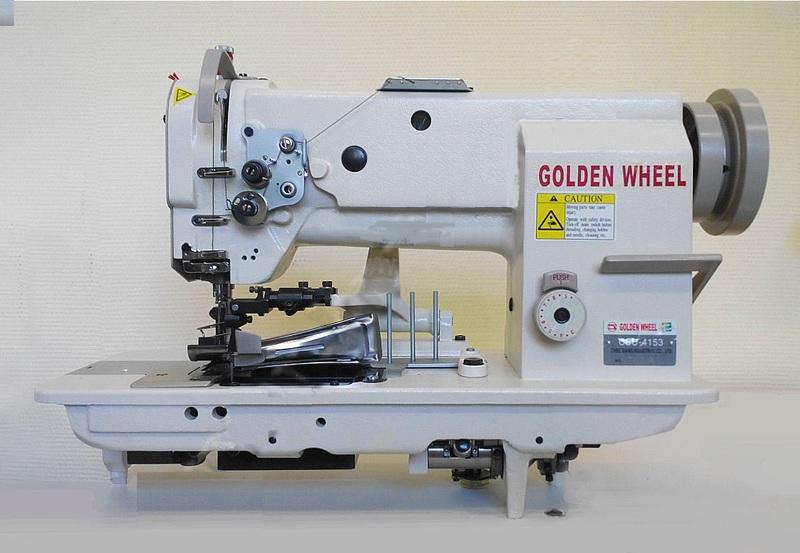 Прямострочная машина для окантовки тяжелых материалов GOLDEN WHEEL CSU-4153