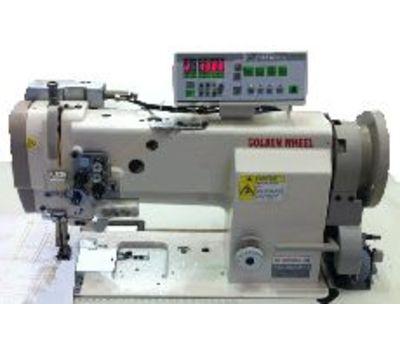 Двухигольная машина с тройным продвижением и обрезкой нитей GOLDEN WHEEL CSU-4252-ABFT