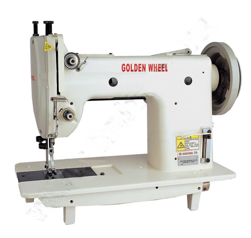 Прямострочная машина для сверхтяжелых материалов GOLDEN WHEEL CS-6501