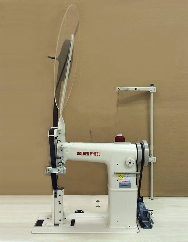 Колонковая машина GOLDEN WHEEL CS-810E с устройством подачи ленты
