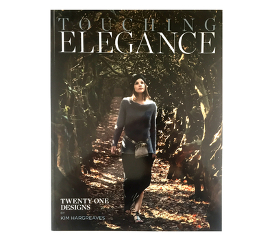 "Книга ""Touching Elegance"", дизайнер Kim Hargreaves, MEZ, Германия"