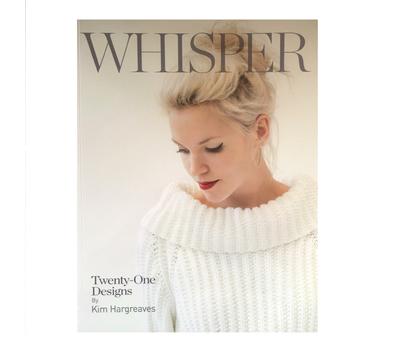 "Книга ""Whisper"", дизайнер Kim Hargreaves, MEZ, Германия"