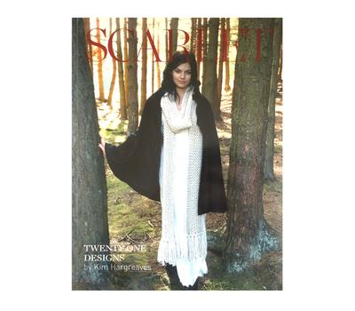 """Книга """"Scarlet"""", дизайнер Kim Hargreaves, MEZ, Германия"""