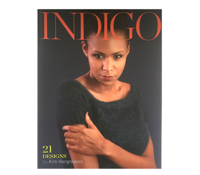 "Книга ""Indigo"", дизайнер Kim Hargreaves, MEZ, Германия"